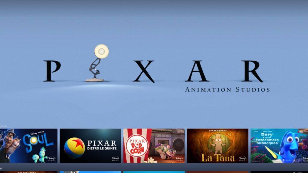 Disney Plus - Pixar