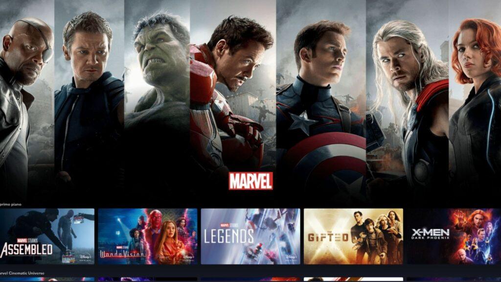 Disney Plus - Marvel